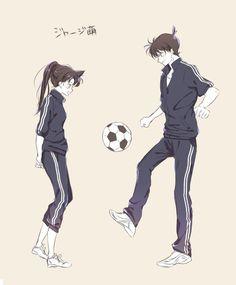 Watch anime online in English. Ran And Shinichi, Kudo Shinichi, Anime Couples Manga, Manga Anime, Anime Art, Magic Kaito, Happy Tree Friends, Kawaii, Detective Conan Shinichi
