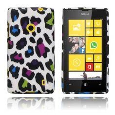 Symphony (Värikkäät Pilkut) Nokia Lumia 520 Suojakuori - http://lux-case.fi/symphony-varikkaat-pilkut-nokia-lumia-520-suojakuori.html