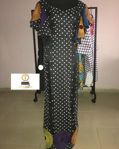Our polka dot and Ankara maxi dress is available for instant pickup.sizes 14 and 16 available Ankara Maxi Dress, Size 12, Polka Dots, Cold Shoulder Dress, Dresses For Work, Chic, Instagram, Fashion, Shabby Chic