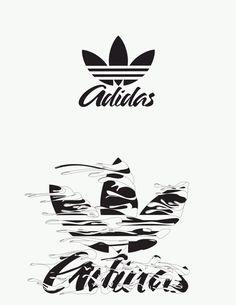 Adidas originals typography on behance Adidas Logo, Nike Wallpaper Iphone, Typography, Lettering, Original Wallpaper, Vintage Nike, Art Logo, Graffiti, Logo Design