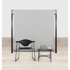 Masculo chair, black leather – Gubi #interior #design #scandinavian