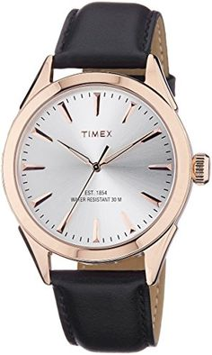 Timex Mens Analog Dial Watch Silver *** To view further for this item, visit the image link.