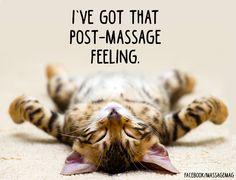 Post-Massage Feeling!  :)