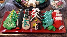 Custom Cookies - Christmas Cookies - Custom Decorated Shortbread Cookies - ORDER HERE (Shipping Avail in 48 states):  www.Facebook.com/StefsEvents