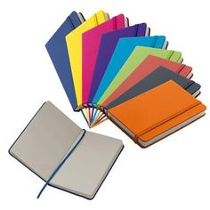 fashionable lubeck note book with an integrated bookmark allows you to find important notes immediately branded merchandise office