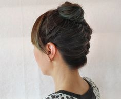 Easy Braided Top Knot Tutorial (Perfect for Mid-Length Hair!)