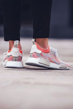 sports shoes 6c18d fc22e ADIDAS NMD R1 PK White Solar Red ,Adidas Shoes Online, adidas  shoeshttp