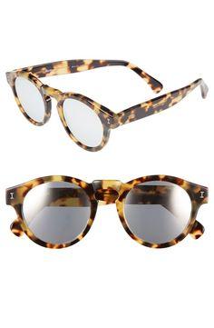 leonard mirrored sunglasses / illesteva