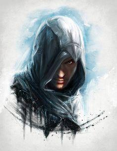 We work in the dark, to serve the light'...Altair by xAteyox.deviantart.com on @deviantART