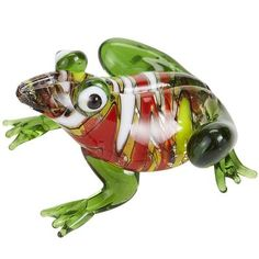 Glass Frog Figurine: I collect glass frog figurines very similar to this.