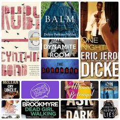 Book Titles  to be read and reviewed by Chrystal  |