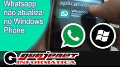 Whatsapp não atualiza no Windows Phone (Nokia/Microsoft) - RESOLVIDO