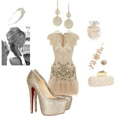 Romantic Fashion, created by amna-herbawi-abdallah on Polyvore