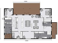 Tellervo on Modernit omakotitalot ja vapaa-ajan asunnot Construction, Architecture Design, House Plans, Floor Plans, Exterior, Flooring, How To Plan, Deco, Building