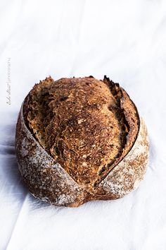 Weizen-Brot und Samen