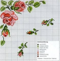 Thrilling Designing Your Own Cross Stitch Embroidery Patterns Ideas. Exhilarating Designing Your Own Cross Stitch Embroidery Patterns Ideas. Cross Stitch Borders, Crochet Borders, Cross Stitch Rose, Cross Stitch Flowers, Cross Stitch Charts, Cross Stitch Designs, Cross Stitching, Cross Stitch Embroidery, Embroidery Patterns