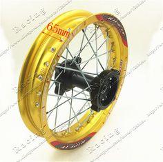 Front Blue 10 Inch 28holes Aluminum Alloy Wheel Rims Drum Brake