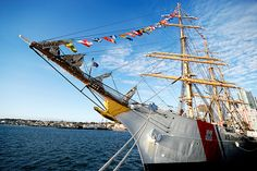 US Coast Guard barque Eagle.  Another hot photo.
