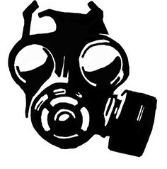 Gas Mask Stencil by ~peoplperson on deviantART