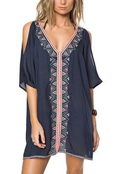 2017 Embroidery Cotton Bathing suit Cover ups Tunics for Beach Robe de 2017 Embroidery Cotton Swimsuit Cover up Tunics for Beach Robe de Praia Swimsuit Cover Up Swimwear Women Beachwear # Bathing Suit Cover Up, Bikini Cover Up, Swimsuit Cover Ups, Bathing Suits, Swim Cover Up Dress, Swimming Outfit Cover Up, Boho Summer Dresses, Beach Dresses, Boho Dress