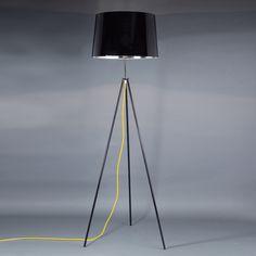 Lampadaire trépied en métal (2 couleurs) Tropic Aluminor