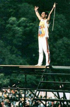 The God Of Rock.Freddie Mercury