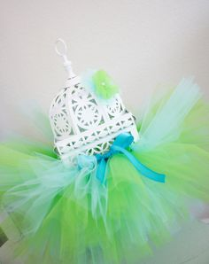 Tutu-made a cute pink and green one with pink bow, have also done red and black