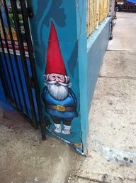 Convenience store gnome. On Bloor St. W.