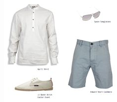 Invited over a friend's house for #lunch around the #pool?  Then, this is the perfect #outfit! #Men