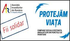 """Asociația Investitorilor din România în Republica Moldova a inițiat campania """"Protejăm Viaţa!"""", destinată protejării angajaților de la punctele de trecere a frontierei din Republica Moldova - Glasul.info Republica Moldova, Personal Care, Self Care, Personal Hygiene"""