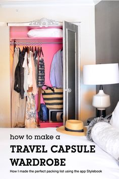 How To Create A Remixable Packing List And Avoid Overpacking - so erstellen sie eine remix-packliste und vermeid. Travel Wardrobe, Capsule Wardrobe, Travel Capsule, Packing Tips For Travel, Packing Ideas, Minimalist Wardrobe, Packing Light, What To Pack, Amalfi Coast