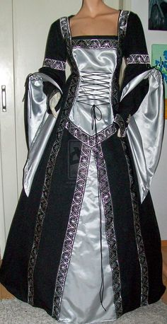Medieval dress Adriana by Azinovic.deviantart.com on @deviantART