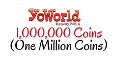 Selling One Million YoWorld Coins for Sale by VintagePreserve  #YoWorld #Yoville