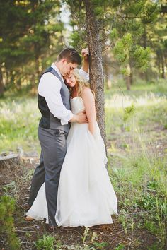 Ben + Meredith | Colorado mountain wedding