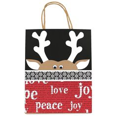 No peeking gift bag. Create your own gift bags using die cuts from AccuCut Craft.