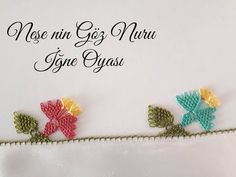 Crochet Flower Tutorial, Crochet Flowers, Knitted Poncho, Knitted Shawls, Knit Shoes, Knitting Socks, Hand Embroidery, Knit Crochet, Place Card Holders