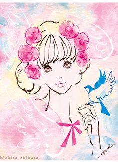 +。♪* SugarToy * by イラストレーター 蛯原あきら *♪。+ >> Illustration girly art