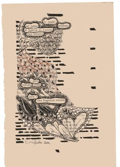 Ecosia - the search engine that plants trees Altered Books Pages, Book Pages, Zentangle, Poesia Visual, Found Poetry, Newspaper Art, Blackout Poetry, Poetry Art, Mail Art