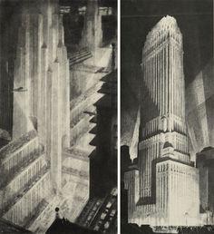 Hugh Ferriss and the Metropolis of Tomorrow | The Engine Room