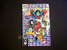 New Mutants 100, (1991), 1st App. X-Force, Signed Rob Liefeld, Marvel B03