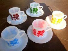 5 tasses arcopal