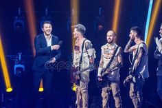 KYIV, UKRAINE - FEBRUARY 21, 2017: O TORVALD Final of Eurovision 2017 national selection during the Eurovision-2017