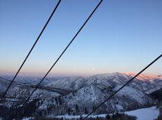 Sunset at Sundance