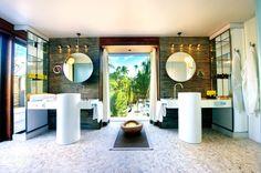 Villa The Brando salle de bains