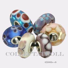 Authentic Trollbeads Silver Universal  Kit - 6 Beads Trollbead