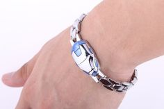 Iron Man Unisex Silver Bracelet – The Cynical Clique