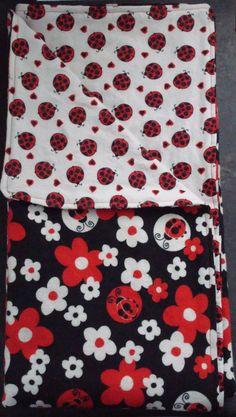 Ladybug Fleece Blanket I Want To Make This