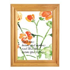 Words For Life - Good Times become good memories and bad times become good lessons..Wish you a happy Merry Christmas!  Custom Made Bible Verse/Quotes picture frames from $4.9 and up   Langham Mall Unit 2333 & 2335 Level 2, 8339 Kennedy Road, Markham, Ontario, Canada  www.OneOfAKaIND.com
