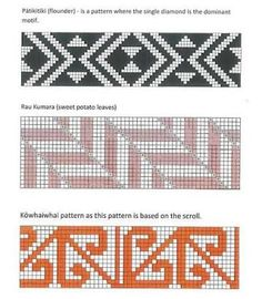 taniko patterns and meanings Flax Weaving, Inkle Weaving, Weaving Art, Basket Weaving, Tapestry Crochet Patterns, Weaving Patterns, Knitting Patterns, Maori Designs, Maori Patterns