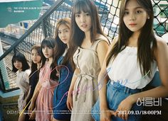 G-Friend released a set of group cuts for 'Rainbow'.The girl group continues teasing for the mini repackage album with group teaser images. In the… Kpop Girl Groups, Korean Girl Groups, Kpop Girls, Mini Albums, Gfriend Album, Cloud Dancer, Summer Rain, Entertainment, G Friend
